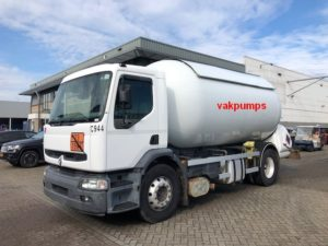 Pumps fort LPG tank truck